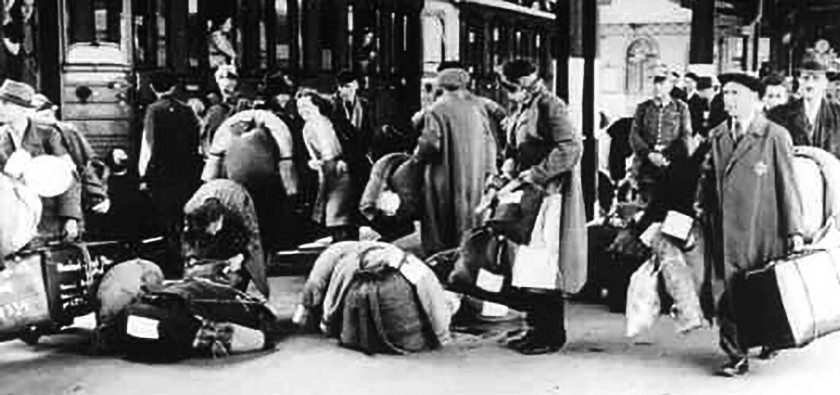 deportation of Jews from Hanau outside Frankfurt am Main